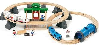 metro y tren brio