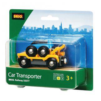 transporte con coche brio