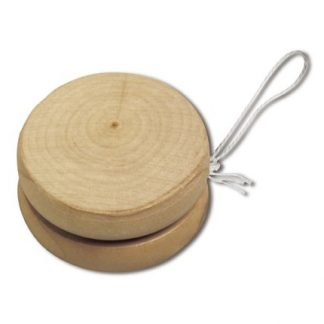 yoyó de madera