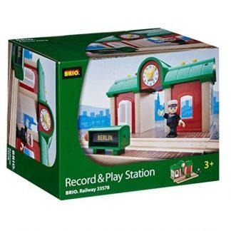 Estación con grabadora