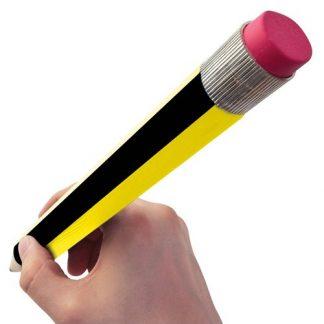lápiz gigante