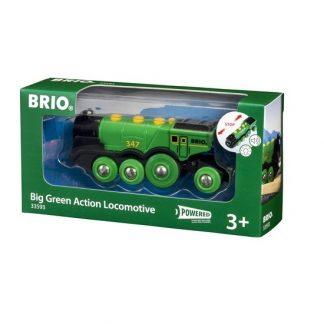 locomotora 2 direcciones verde