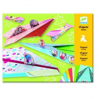aviones coquetos de origami