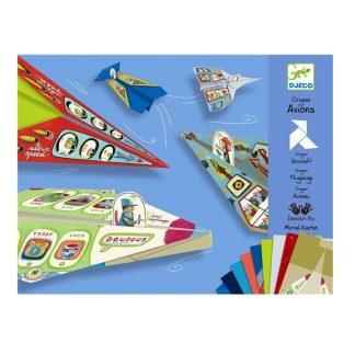 aviones de origami