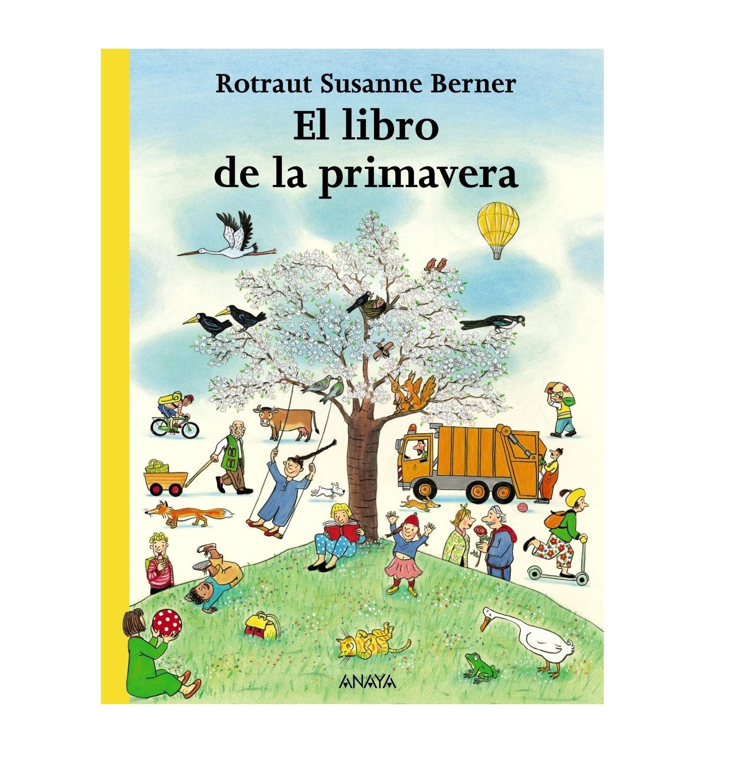 El libro de la primavera kinderland - Libros para relajar la mente ...