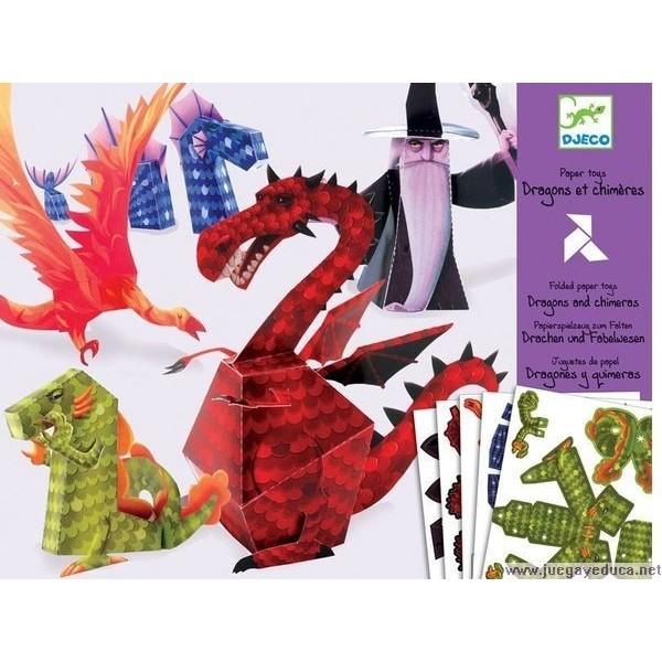 origami dragones