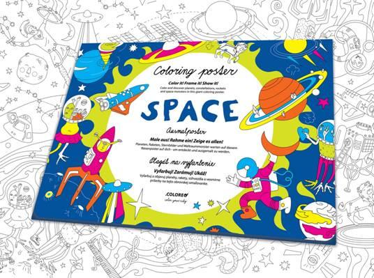 coloreo espacio