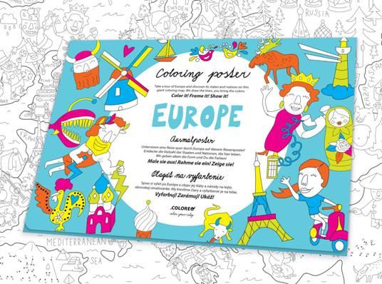 colorea europa