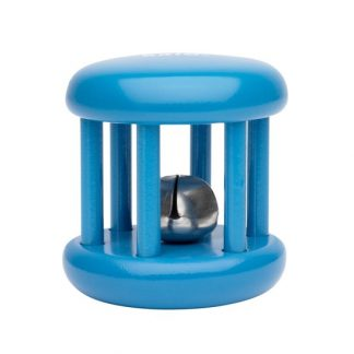 sonajero con cascabel azul