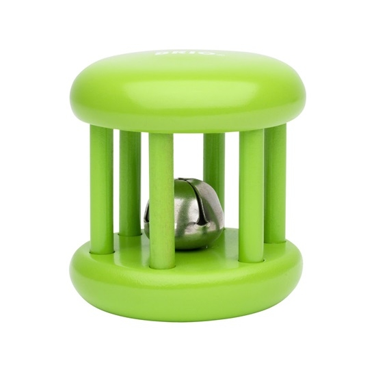 sonajero con cascabel verde