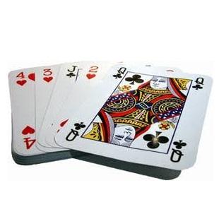 baraja de cartas gigante