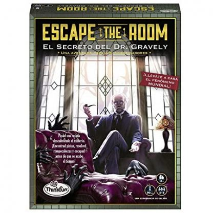 escape the room gravely