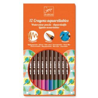 lápices acuarelables djeco